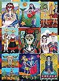 Dia De Los Muertos 1000 Piece Jigsaw Puzzle Halloween Artist Candy Mayer