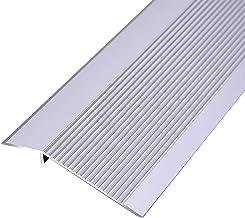 Drempelovergangsstrip Threshold Free Boor 10x150cm Profielen 2 Pack Aluminium Legering Grote Drop Height Gesp Afdekstrook...