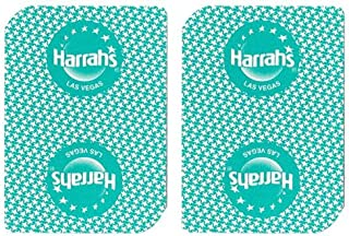 Single Deck Used in Casino Playing Cards - Harrahs