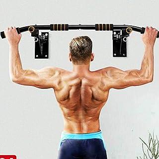 Barra de dominadas para montaje en la pared, barra de barbilla para uso en el hogar, barra de ejercicio de barbilla, barra...