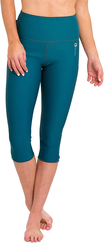 Delfin Max 72% OFF Spa Women's Heat Maximizing Rare Workout Capris Neoprene