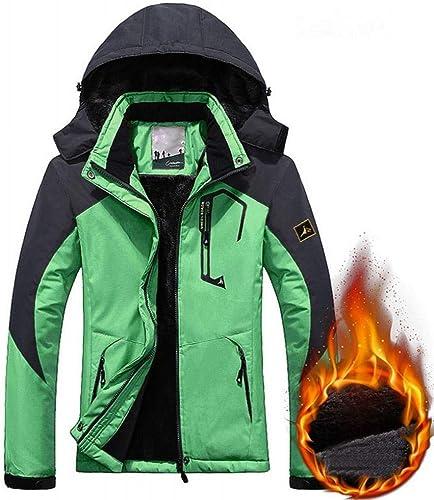 GZ Veste d'hiver Trois-en-Un pour Hommes Et Femmes en Plein Air Alpinisme VêteHommests Hommes Coupe-Vent Femmes