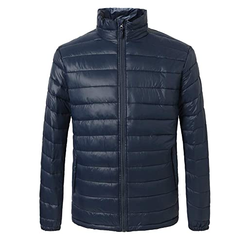 24d6c2e01f8e SUNDAYROSE Men s Puffer Jacket Water-Resistant Winter Warm Padded Oterwear
