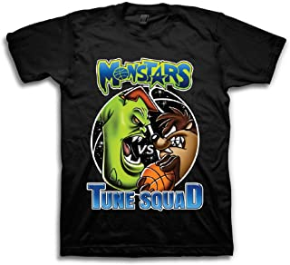 74510cbec0d space jam Mens Classic Shirt - Tune Squad Michael Jordan & Bugs Bunny Tee  90's Classic