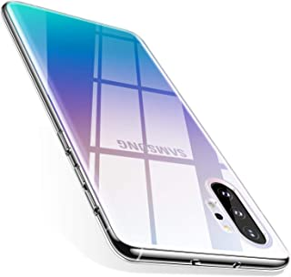 TORRAS Galaxy Note 10 Plus Case/Galaxy Note 10 Plus 5G Case Crystal Clear Ultra-Thin Slim Fit Soft TPU Cover Compatible with Samsung Galaxy Note 10 Plus 6.8 inch, Clear