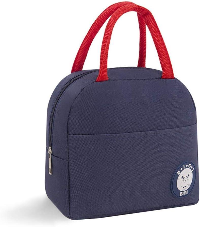 d/éjeuner voiture sac de pique-nique camping HSKB Sac /à lunch gris sac /à main pour plein air voyage Gris - JJ-123 barbecue sac isotherme sac /à lunch plage