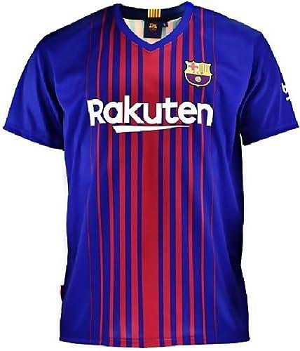 F.C. Barcelona T Junior réplique Officielle 2017-18 [AB4222]