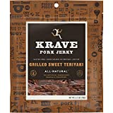 Krave Jerky Gourmet Pork Cuts, Grilled Sweet Teriyaki, 2.7 Oz (Pack Of 8)