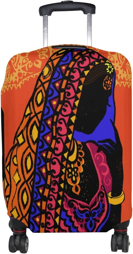 Cooper girl Beautiful African Women cheap Travel Suitcas Cash special price Cover Luggage