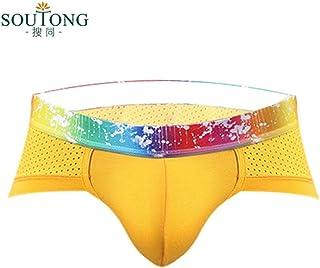 d7471365e141 Sothread CK10 Men's Sexy Boxer Briefs Low Rise Underwear Bulge Pouch Soft  Shorts Underpants