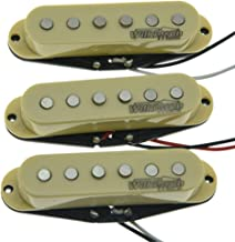 Wilkinson Lic Cream ST Strat Vintage Voice Single Coil Pickups Fits Stratocaster