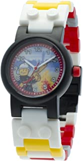 LEGO Kids' 8020011 LEGO City Fireman Minifigure Watch
