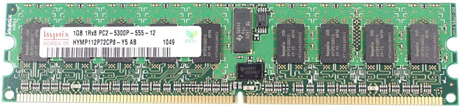 EbidDealz - HYMP112P72CP8-Y5AB 1GB DDR2 SDRAM PC-5300 204-Pin Computer Memory UK629 0UK629 CN-0UK629
