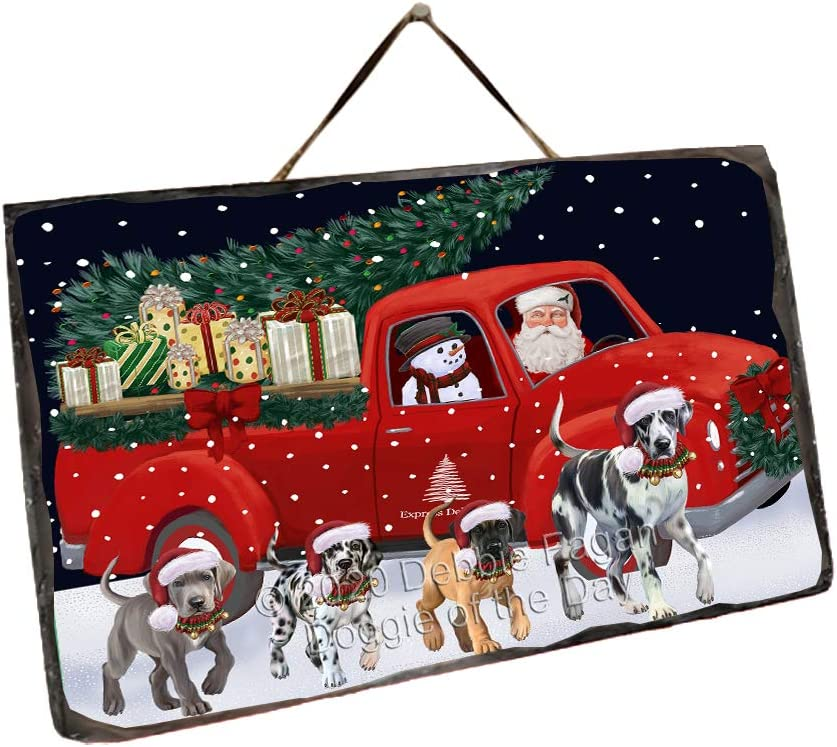 Doggie of Max 58% OFF the Day Max 44% OFF Christmas Express G Truck Red Running Delivery