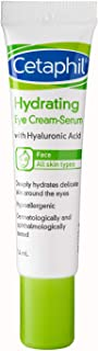 Cetaphil Hydrating Eye Cream-Serum with Hyaluronic Acid, 14 milliliters