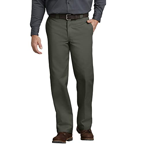 Essentials Stain /& Wrinkle-Resistant Classic Work Pant Uomo