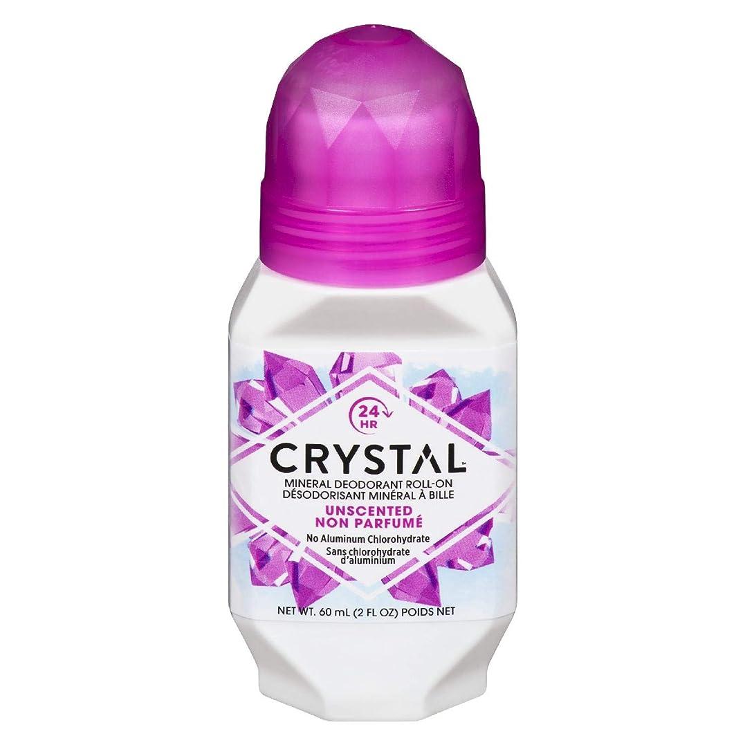 結論論理的にサーマルCrystal ミネラルボディデオドラントロールオン、無香料2.25オンス