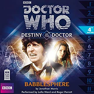 Doctor Who - Destiny of the Doctor - Babblesphere cover art