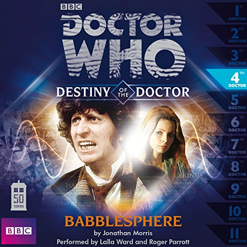 Doctor Who - Destiny of the Doctor - Babblesphere audiobook cover art