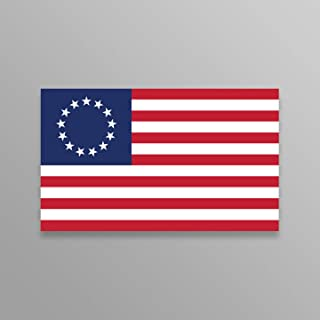 2 Pack Premium Car Accessory American USA Flag