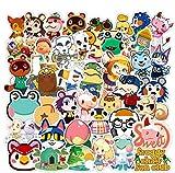 Animal Crossing Stickers, 100 Pcs Popular Game Stickers Animal Crossing New Horizons Stickers for Water Bottle Laptop,Waterproof Vinyl Stickers Decals for Kids, Girls, Teens