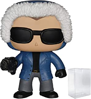 Funko Pop! TV: The Flash - Captain Cold Vinyl Figure (Bundled with Pop BOX PROTECTOR CASE)