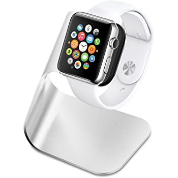 Spigen S330 Designed for Apple Watch Stand with Aluminum Body for Apple Watch All Series 44mm / 42mm / 40mm / 38mm - Patent Pending