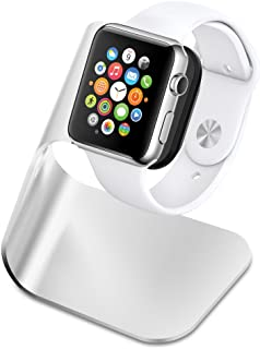 Spigen S330 Designed for Apple Watch Stand with Aluminum Body for Apple Watch Series 5 / Series 4 / Series 3/2 / 1 / 44mm / 42mm / 40mm / 38mm - Patent Pending
