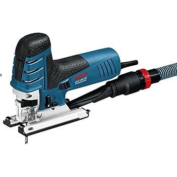 Bosch Professional  0601512000 Scie Sauteuse GST 150 CE (780 W, Profondeur de Coupe Maxi dans le Bois : 150 mm, dans Flexible d'Aspiration, dans Coffret) Bleu