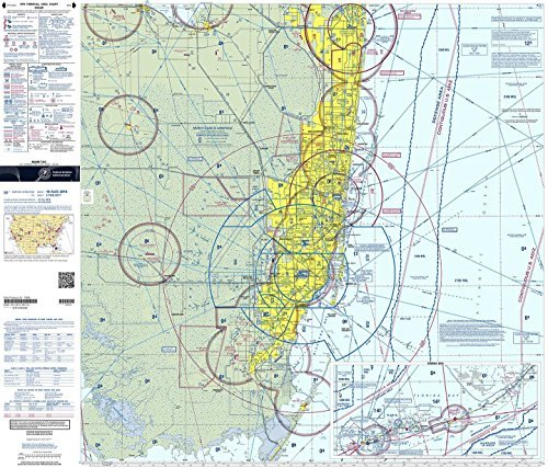 FAA Chart: VFR TAC MIAMI TMIA (Current Edition)