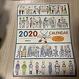カレンダー 2020年 tanico 壁掛けカレンダー