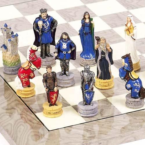 King Arthur The Legend of Camelot Chessmen