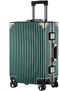 スーツケース (DesertFox) アルミフレーム 軽量 キャリーケース 耐衝撃 キャリーケース 機内持込 キャリーバッグ 人気 静音 旅行 出張