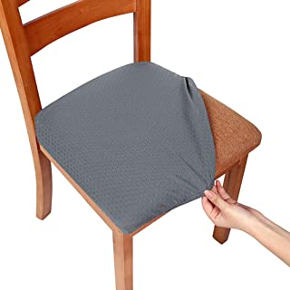Excellent Amazon Com Grey Dining Chair Slipcovers Slipcovers Lamtechconsult Wood Chair Design Ideas Lamtechconsultcom