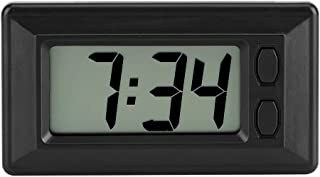 GLOGLOW LCD Digital Clock Table Car Dashboard Desk Electronic Clock Date Time Calendar Display