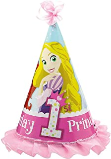 8 Pack 5 x 6.5 Inches Princess Party Theme Cromus Princess Party Hats Princess Party Supplies Pink Princess Hat Girl Birthday Party