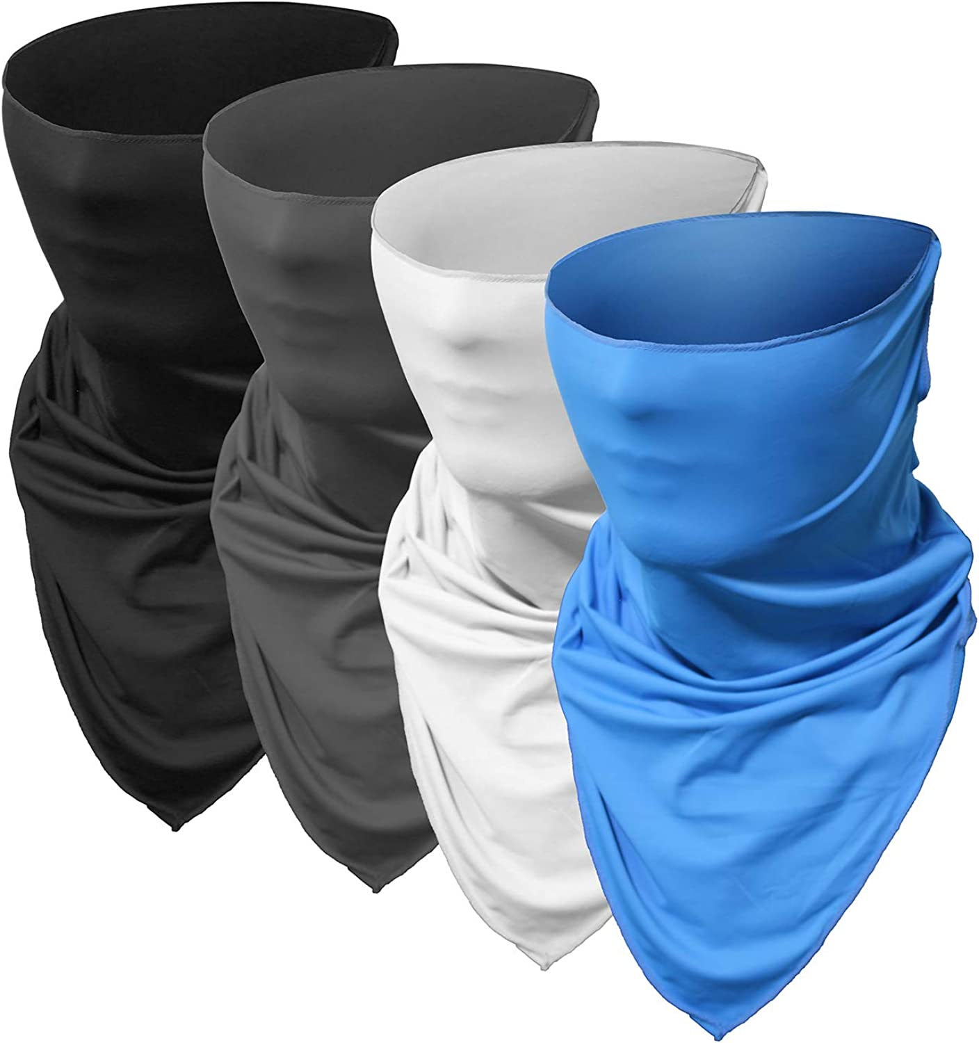 Men and Women's Face Cover Scarf Bandanas Neck Gaiter Dust UV Sun Protection for Festivals and Outdoors