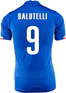 PUMA BALOTELLI #9 ITALY HOME JERSEY WORLD CUP 2014