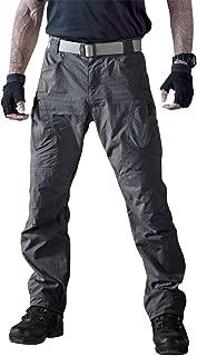 Men's Outdoor Quick Dry Water Repellent Assault Cargo Military Hiking Pants