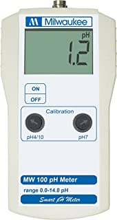 Milwaukee Instruments MW100 Ph Meter with 2 Point Manual Calibration