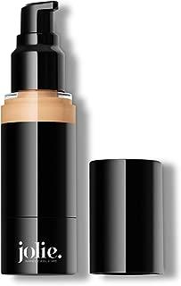 Jolie Luminous Foundation SPF 15 - Silky Hydrating Liquid Makeup (Linen)