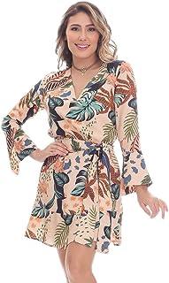 Vestido Clara Arruda Manga Longa 50412