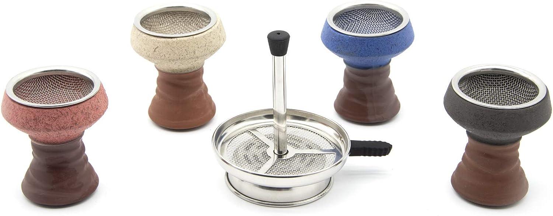 Premium Hookah online shop Bowl Set Charcoal Ceramic with Max 40% OFF