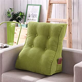 Nattsida triangel kudde kil kudde ryggstöd luftig soffa tatami lubar rygg läsning huvuddel bulster stöd kudde – E 45 x 55 ...