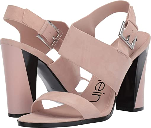 Nude Leather Suede