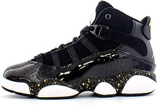 Jordan 6 Rings Black/Metallic Gold-White (PS)