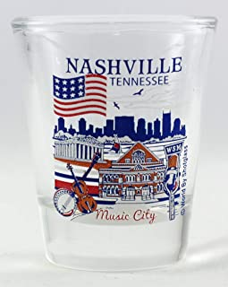Nashville Tennessee Great American Cities Collection Shot Glass