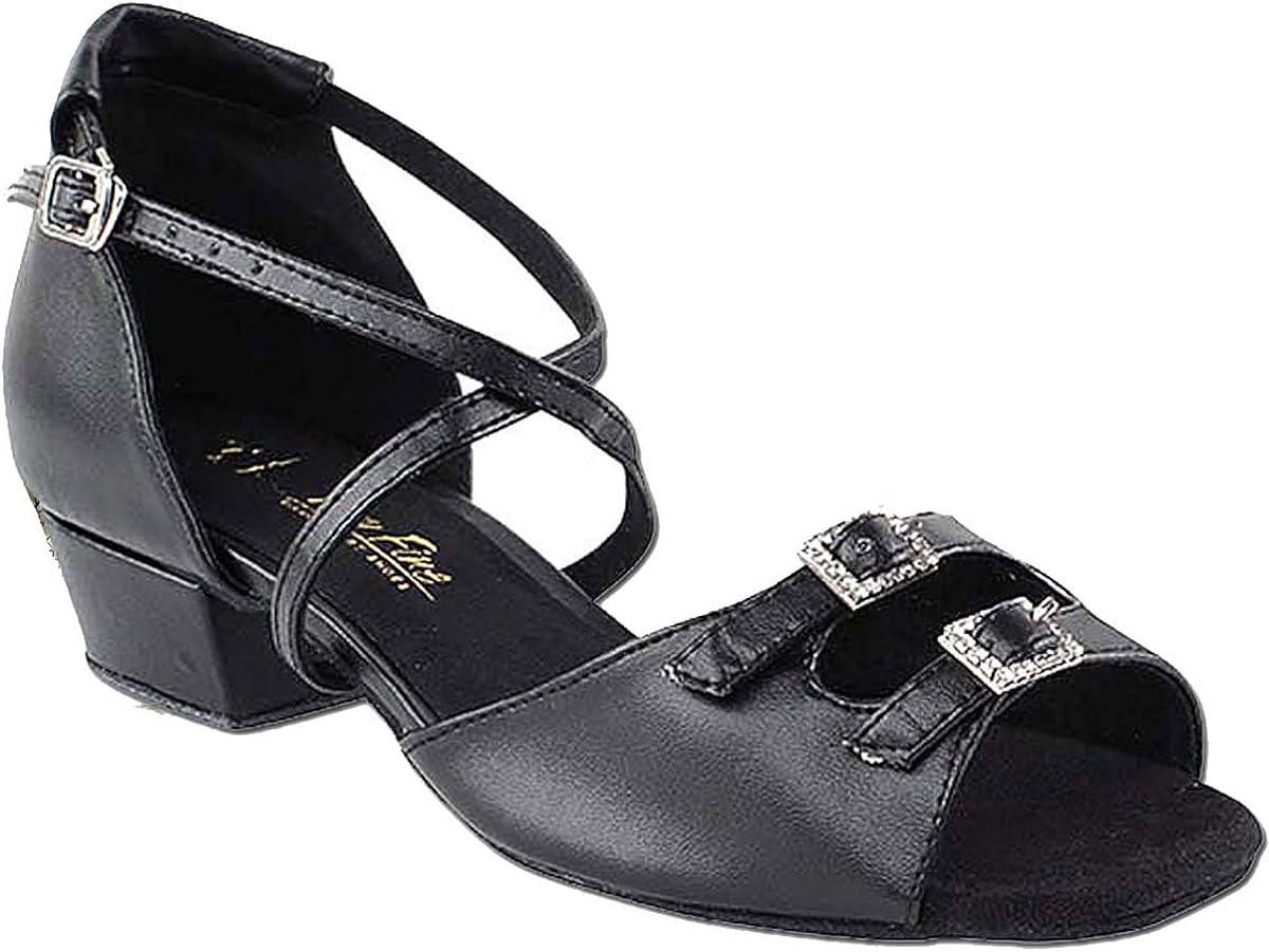 Women's Ballroom Dance Shoes Salsa Latin Practice Shoes 1620FTEB Comfortable-Very Fine 1