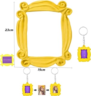 for Friends Peephole Yellow Frame. Replica of The Frame seen in Monica's Door. It has Four Side Tape. Ready to Hang. (Yellow-Frame)