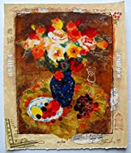 Art by Alexander Wissotzky Summer Fruit Hand Signed Limited Edition Serigraph Print. After the Original Painting or Drawing. Paper 12 Inches X 10 Inches